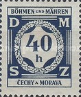 [Governemnt Service Stamps, Typ A1]