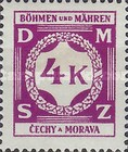 [Governemnt Service Stamps, Typ A10]