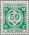 [Governemnt Service Stamps, Typ A2]