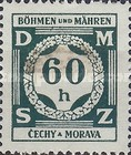[Governemnt Service Stamps, Typ A3]