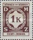 [Governemnt Service Stamps, Typ A5]