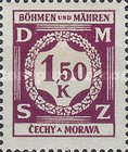 [Governemnt Service Stamps, Typ A7]