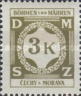 [Governemnt Service Stamps, Typ A9]