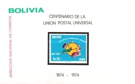 [Airmail Stamps - The 100th Anniversary of UPU, 1974, type ]