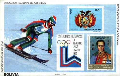 [Airmail - Olympic Games - Lake Placid, USA, Typ ]