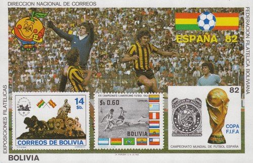[Football World Cup - Spain '82, type ]