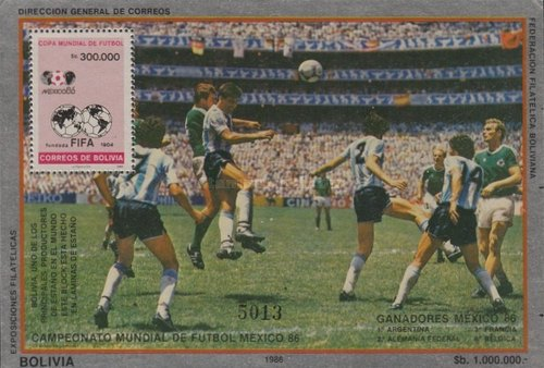 [Football World Cup - Mexico 1986 - Finalists Argentina vs West Germany 3-2, type ]