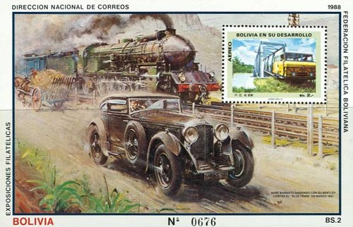[Airmail - Blue Train Races, type ]