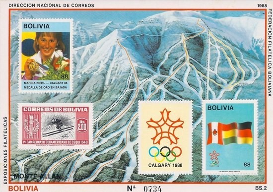 [Winter Olympic Games - Calgary, Canada - Marina Kiehl Gold Winner, type ]