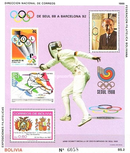 [Olympic Games - Seoul '88 & Barcelona '92, type ]