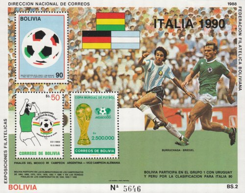 [Football World Cup - Italy 1990, type ]