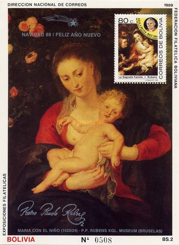 [Christmas - Painting by Peter Paul Rubens, Typ ]