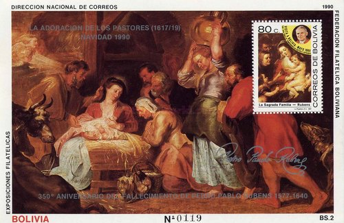 [The 350th Anniversary of the Death of Peter Paul Rubens, Typ ]