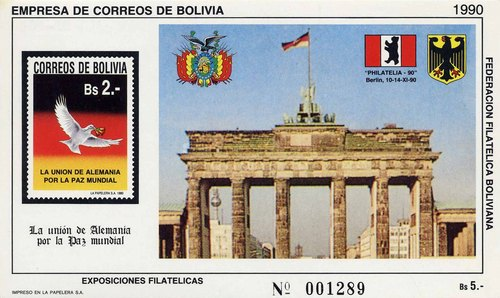 [Unification of Germany - International Stamp Exhibition