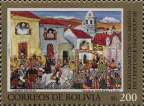 [THe 200th Anniversary of the Birth of Simon Bolivar, type ABD]
