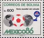 [Football World Cup - Mexico, type ABN]