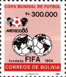 [Football World Cup - Mexico 1986, type ACP]