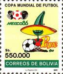 [Football World Cup - Mexico 1986, type ACR]