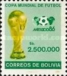 [Football World Cup - Mexico 1986, type ACT]