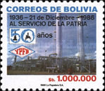 [The 50th Anniversary of the National Petroleum Refining Corporation, type ADE]