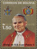 [Visit of Pope John Paul II, type AFC]