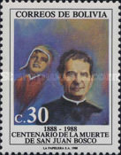 [The 100th Anniversary of the Death of Saint John Bosco, Founder of Salesian Brothers, type AFI]