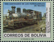 [The 100th Anniversary of the Bolivian Railways, type AFK]
