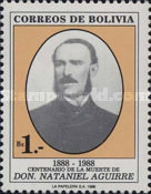[The 100th Anniversary of the Death of Nataniel Aguirre, Writer, type AFL]