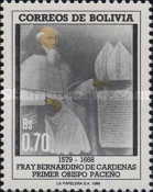 [The 220th Anniversary of the Death of Brother Bernardino de Cardenas, First Bishop of La Paz, type AFR]