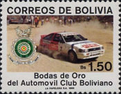 [The 50th Anniversary of the Bolivian Automobile Club, type AFW]