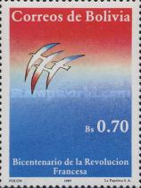 [The 200th Anniversary of the French Revolution, type AGG]