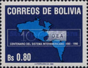 [The 100th Anniversary of the Organization of American States, type AHD]