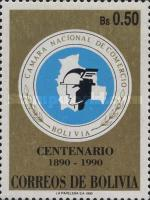 [The 100th Anniversary of the Bolivian Chamber of Commerce, Typ AHO]