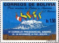 [The Fourth Andean Council of Presidents, La Paz, Typ AIB]