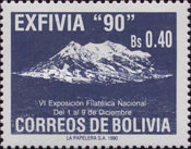"""[""""Exfivia 90"""" National Stamp Exhibition, type AIC]"""