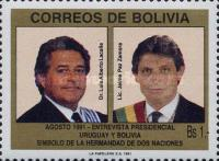 [Meeting of Uruguayan and Bolivian Presidents, type AIT]