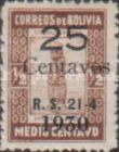 """[Surcharged & Overprinted """"R. S. 21-4 1930"""", type AP1]"""