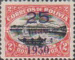 """[Surcharged & Overprinted """"R. S. 21-4 1930"""", type AR2]"""