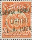 [Airmail - First Flight from Cochabamba to La Paz. No. 134 Overprinted, Typ AU27]