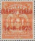 [Airmail - First Flight from Cochabamba to La Paz. No. 134 Overprinted, Typ AU28]
