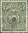 [Not Issued Stamps Overprinted, Typ AU44]