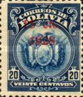 [Coat of Arms Stamps Surcharged, Typ AU47]