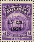[Coat of Arms Stamps Surcharged, Typ AU50]