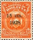 [Coat of Arms Stamps Surcharged, Typ AU51]