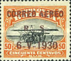 [Airmail - Issue of 1924 Overprinted