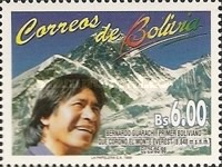 [The Firsst Ascent of Mount Everest by a Bolivian, 1998, Typ AVF]