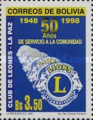[The 50th Anniversary of the La Paz Lions Club, 1998, Typ AVY]