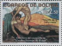 [The 100th Anniversary of the Birth of Cecilio Guzman de Rojas, Artist, Typ AXU]