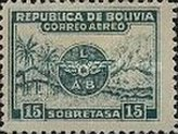 [Airmail - Emblem of Lloyd Aéreo Boliviano, Typ BH]