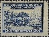 [Airmail - Emblem of Lloyd Aéreo Boliviano, Typ BH1]
